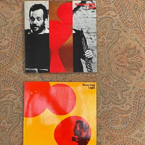 JAZZ 2 x Lps Steve Lacy  VG+ to EX (erasable writing on the back); VG+ to EX  Fr…