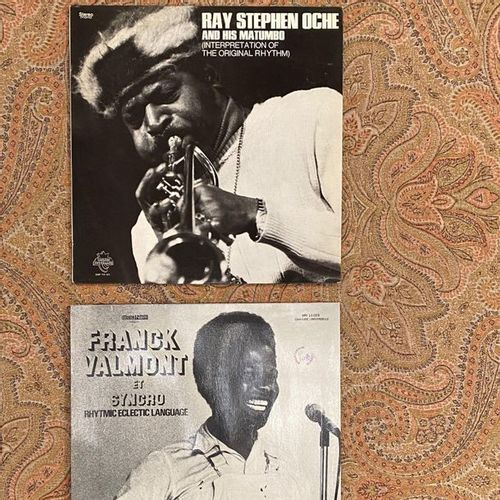 JAZZ 2 x Lps Afro jazz  VG+ to EX (writing on the back); VG+ to EX
