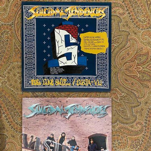POP ROCK 2 x Lps Suicidal Tendencies  VG+ to EX; VG+ to EX  Hard Rock