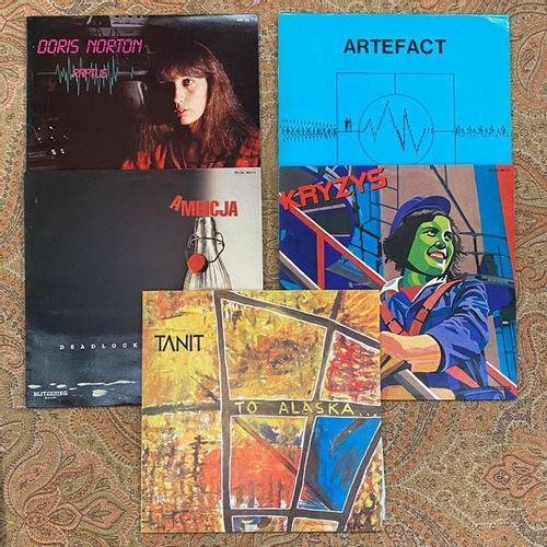 POP ROCK 4 x Lps New Wave/Synth  VG to EX; VG+ to EX