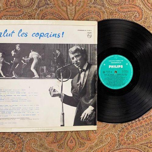 "Johnny HALLYDAY 1 x Lp Johnny Hallyday ""Salut les copains""  B77374L, Philips, Gr…"