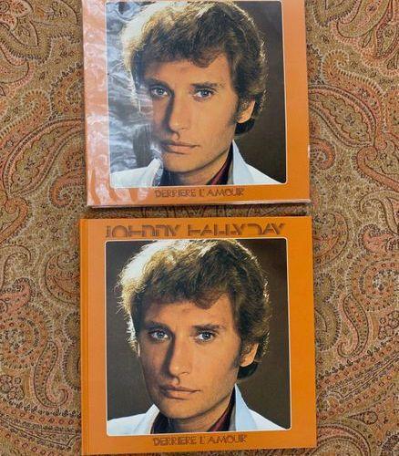 "Johnny HALLYDAY 2 disques 33 T Johnny Hallyday ""Derrière l'amour""  Réditions, do…"