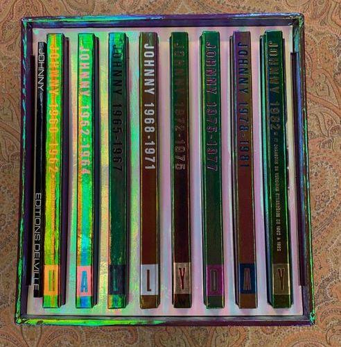 Johnny HALLYDAY 1 x integral box (Lps) Johnny Hallyday  VG+ to EX; VG+ to NM