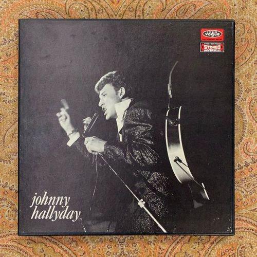 Johnny HALLYDAY 1 coffret 33 T Johnny Hallyday + livret  COF10, Vogue  EX à NM; …
