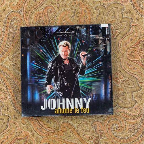 "Johnny HALLYDAY 1 coffret 33 T Johnny Hallyday ""Stade de France 98""  Edition lim…"