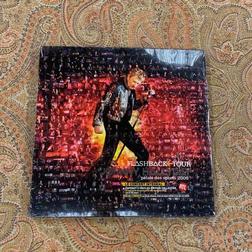 "Johnny HALLYDAY 1 coffret 33 T Johnny Hallyday ""Flashback Tour Palais des Sports…"