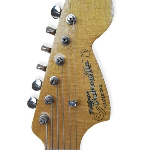 GUITAR: Philippe Dubreuille. Model: Bastertone. Date: 2013  Neck and fingerboard…