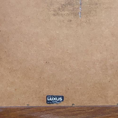 Miroir, encadrement en bois Circa 1960 92 x 35 cm LOT VISIBLE SUR RENDEZ VOUS +3…