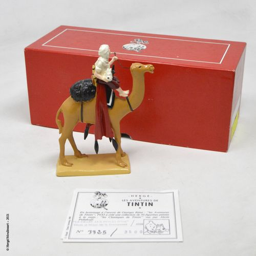Le crabe aux pinces d'or 赫格/皮克斯(HERGÉ/PIXI  Hergé :丁丁系列第2号  金爪子的螃蟹:骆驼上的丁丁(1990年 …