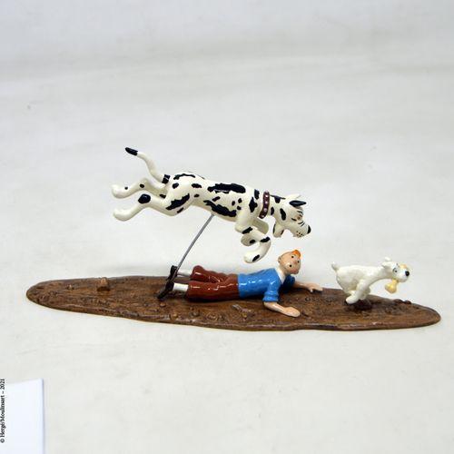 L'île noire 赫格/皮克斯(HERGÉ/PIXI  Hergé :穆林萨特铅/经典系列  黑岛:丹麦人追捕丁丁(2002)。  编号:46944  带…