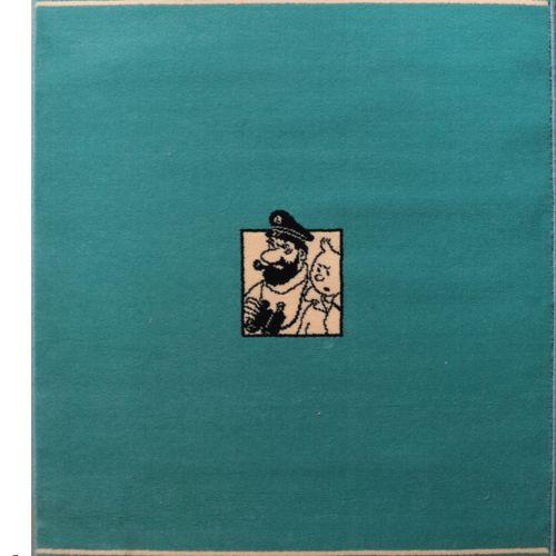 Dérivés Tapis en laine édité par Moulinsart (1997)  Le trésor de Rackham le roug…