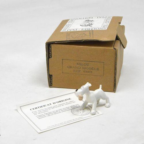 TINTIN HERGÉ/PIXI  Collection Grands modèles  Milou  Référence : 40005  Avec boi…