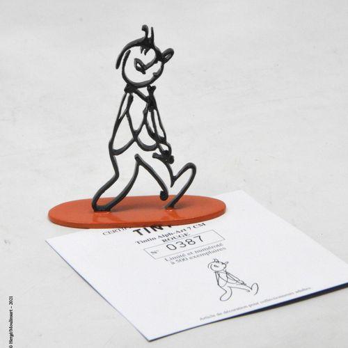 TINTIN HERGÉ/MOULINSART  Hergé : Moulinsart Plomb/Collection Sculpture  Tintin A…