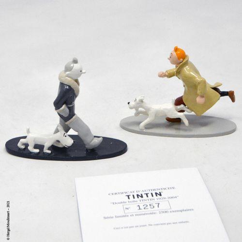 TINTIN HERGÉ/MOULINSART  Hergé : Moulinsart Plomb/Collection classique  Double b…