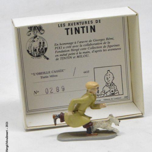 L'oreille cassée HERGÉ/PIXI  Hergé : Tintin série n°2  L'oreille cassée: Tintin …