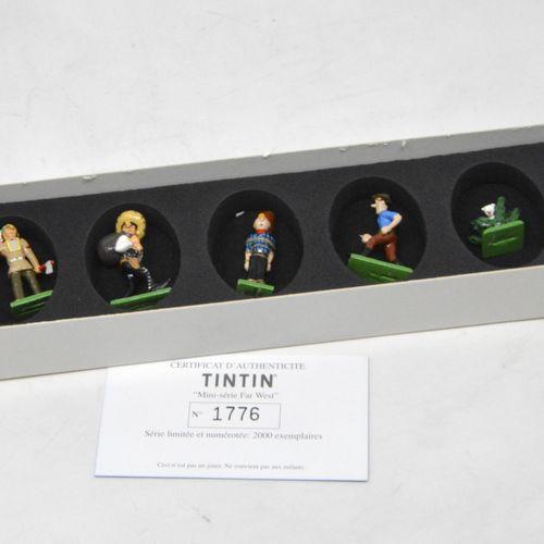 Tintin en Amérique HERGÉ/MOULINSART  Hergé : Mini/2e Collection Moulinsart Plomb…