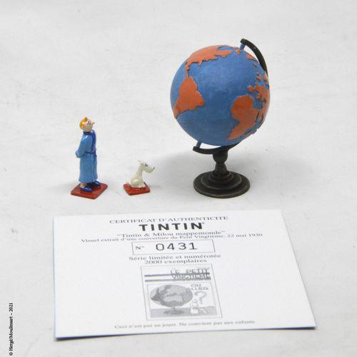 TINTIN HERGÉ/MOULINSART  Hergé : Mini/2e Collection Moulinsart Plomb  Tintin et …