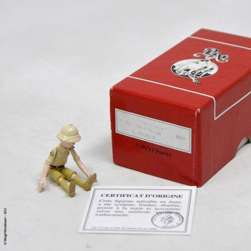 Tintin au Congo HERGÉ/PIXI  Hergé : Collection articulés en étain  Tintin Congo …