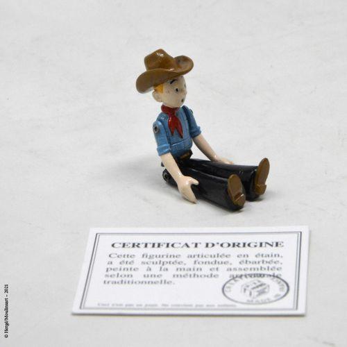 Tintin en Amérique HERGÉ/PIXI  Hergé : Collection articulés en étain  Tintin en …