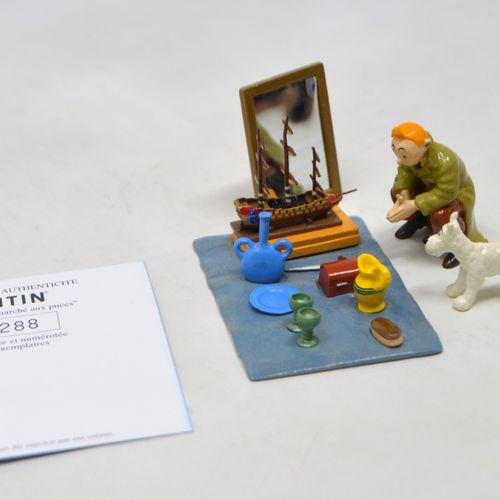 LE SECRET DE LA LICORNE HERGÉ/MOULINSART  Hergé : Moulinsart Plomb/Collection cl…