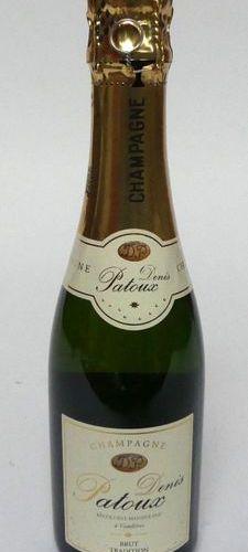 12 1/2 bouteilles de CHAMPAGNE Denis PATOUX en carton