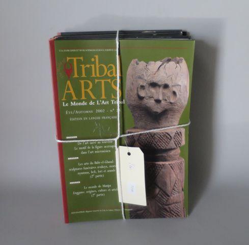 15 numéros de la revue TRIBAL ARTS – Fev 97 à automne 2002