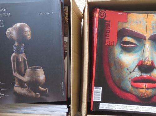 77 numéros de la revue TRIBAL ART 2002 – 2020
