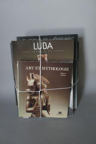 5 livres – LUBA – Le Grand Héritage ( Dapper ) L'art africain ( Ed Place des vic…