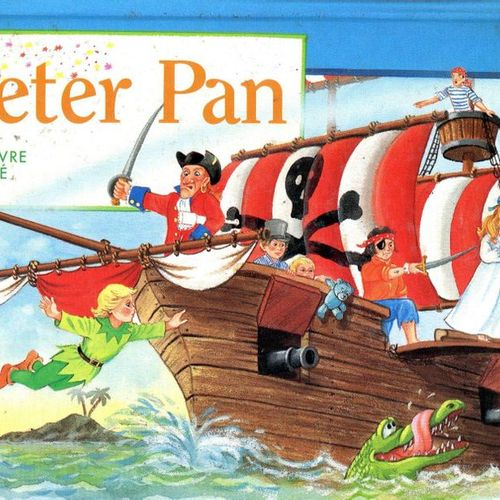 Peter Pan. An animated book. S. L.: Editions du Korrigan, MLP, 1998. Good condit…