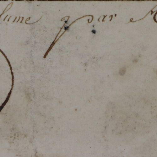 AUVREST (actif à Paris vers 1780 1820).  Louis Seize, à cheval.  Encre et lavis …