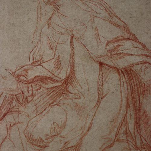 Attribué à Baldassare FRANCESCHINI, dit IL VOLTERRANO (1611 1689)  Figure agenou…