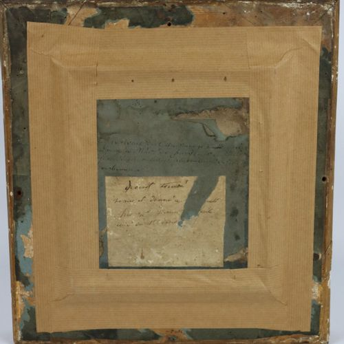 E. W. THOMSON (1770 1847)  Portrait de femme.  Crayons et rehauts de gouache sur…