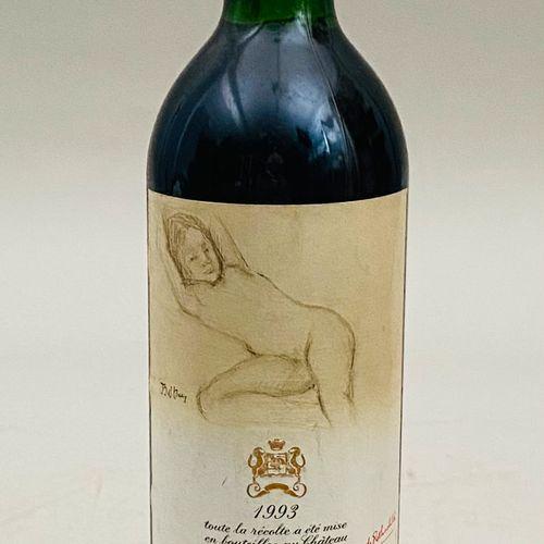 MOUTON ROTHSCHILD 1993 Une bouteille.