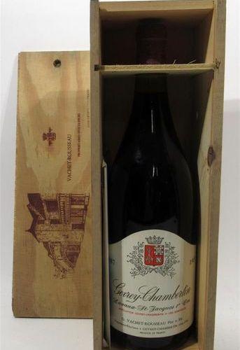 1 Magnum of GEVREY CHAMBERTIN Laveaux Saint Jacques Premier cru G.Vachet Roussea…