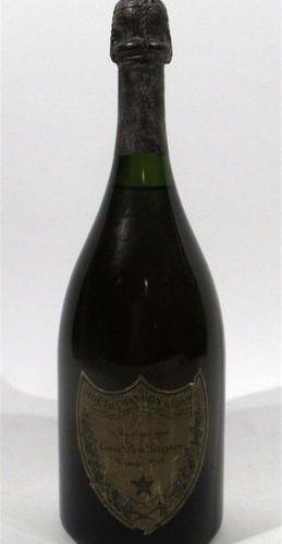 1 bottle of champagne cuvée Dom Pérignon 1969 (Label rubbed)