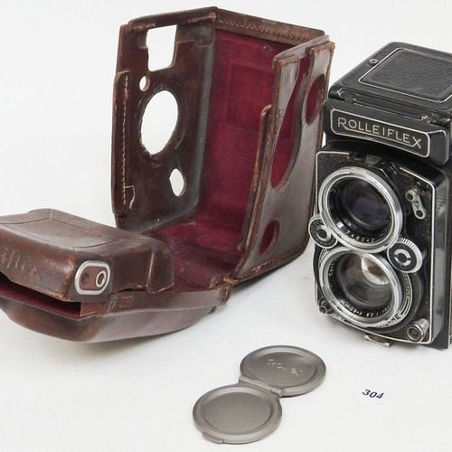 Rolleiflex  N°1610147 years 55/56. Ked model  Zeiss Planer 2.8 / 8 cm  In its or…