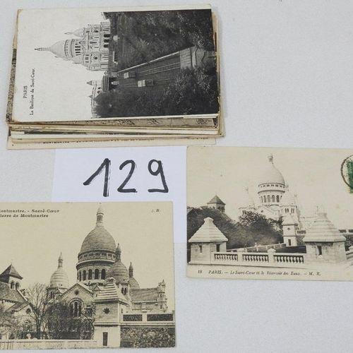 Paris  Lot comprising : Monuments, old Montmartre, banks of the Seine including …