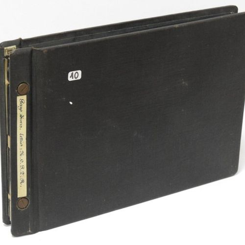 Black binder including : Cancelled postage stamps of France, mint stamps of Fran…
