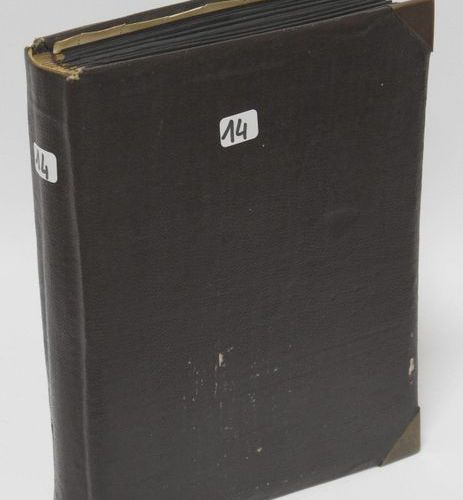 Brown binder comprising : France, mint postage stamps with and without charcoals…
