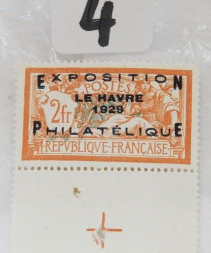 France  Postage stamp No. 257 A, mint and without hinge with sheet edge