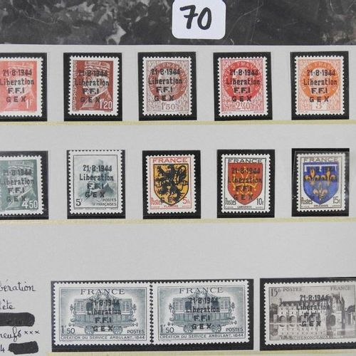 France New postage stamps release including : Eighteen postage stamps overload …