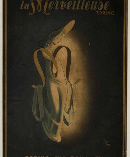 "Severo ""Sepo"" Pozzati (1895 1983), LA MERVEILLEUSE TORINO Première édition de l'…"
