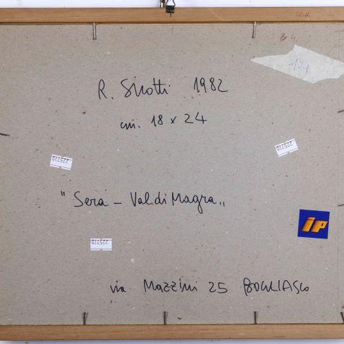 Raimondo Sirotti (1934 2017), Paesaggio pastel on paper cm. 18x23 signed at bott…