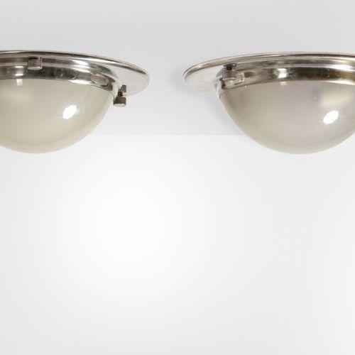 Luigi Caccia Dominioni, Due lampade a soffitto o a parete mod. LSP6 con struttur…