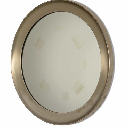 Sergio Mazza, Coppia di specchiere a parete mod. Narciso con struttura in metall…