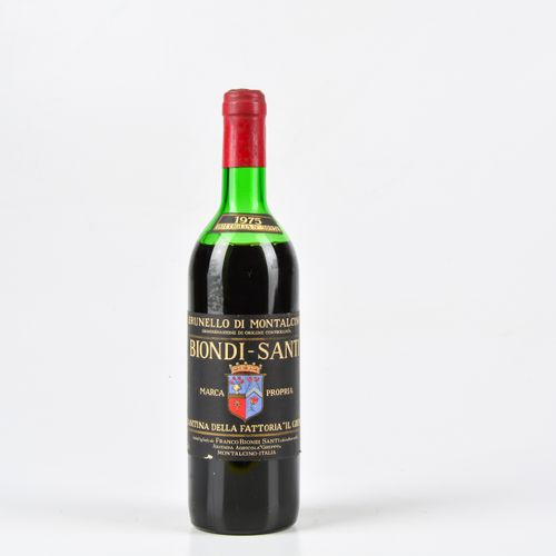 Biondi Santi Tenuta Il Greppo, Brunello di Montalcino, (1 Bt) 1975 1 Bt MS