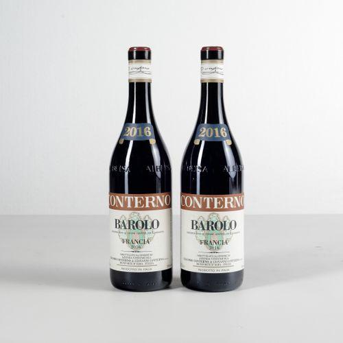 Giacomo Conterno, Barolo Francia, (2 Bts) 2016 2 Bts WN