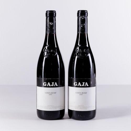 Gaja, Barbaresco Costa Russi, (2 Bts) 1995 2 Bts WN