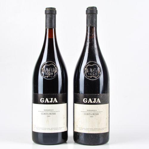 Gaja, Barbaresco Costa Russi, (2 Mgs) 1985 2 Mgs WN