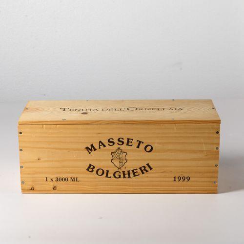 Tenuta dell'Ornellaia, Masseto, (1 DMg) 1999 OWC密封